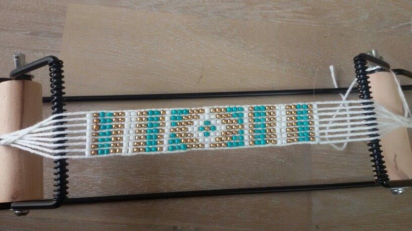 Armbandje  Zelf gemaakt Bead weaving