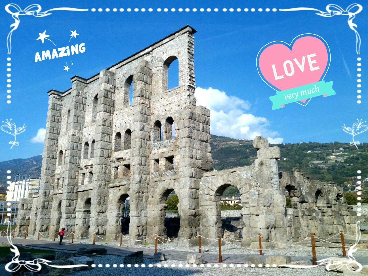 Teatro romano, Aosta