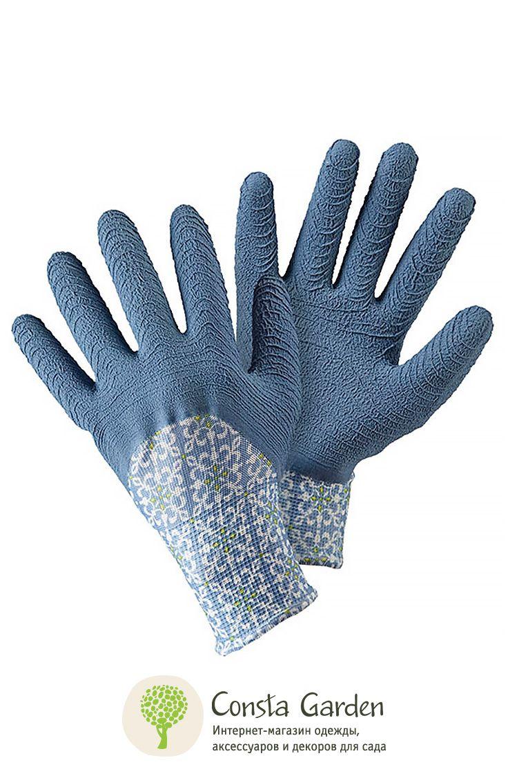 Перчатки с рельефным узором