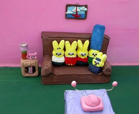 The Simpsons Inspired Peeps