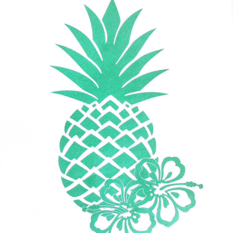 photo regarding Pineapple Printable named Aloha pineapple printable banner and signal package. Printables
