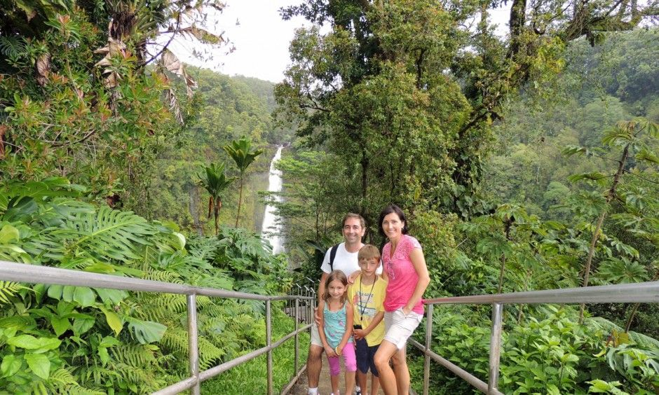 Rainforest On The Big Island: Hiking The Rainforest Trail At Akaka Falls Was One Of Our