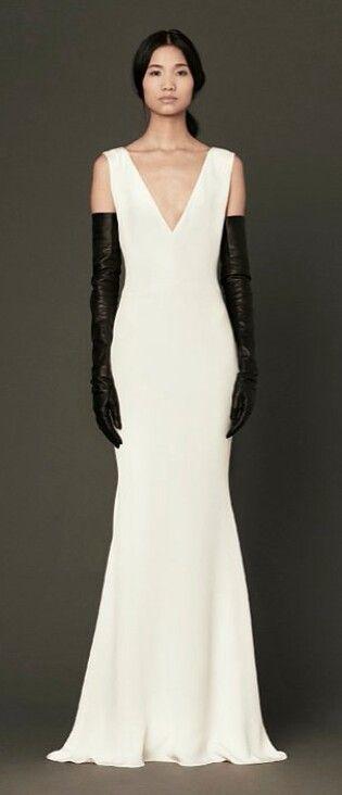 Black Leather Opera Gloves With Ivory Dress Gloves Pinterest