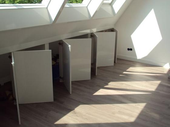kleine zolder slaapkamer - google zoeken - zolder | pinterest, Deco ideeën