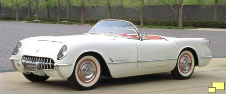 It was 1953!  President Truman announces development of the hydrogen bomb, Russian dictator Joseph Stalin suffers a stroke & dies and the world's 1st Corvette rolls off the assembly line in St. Louis.