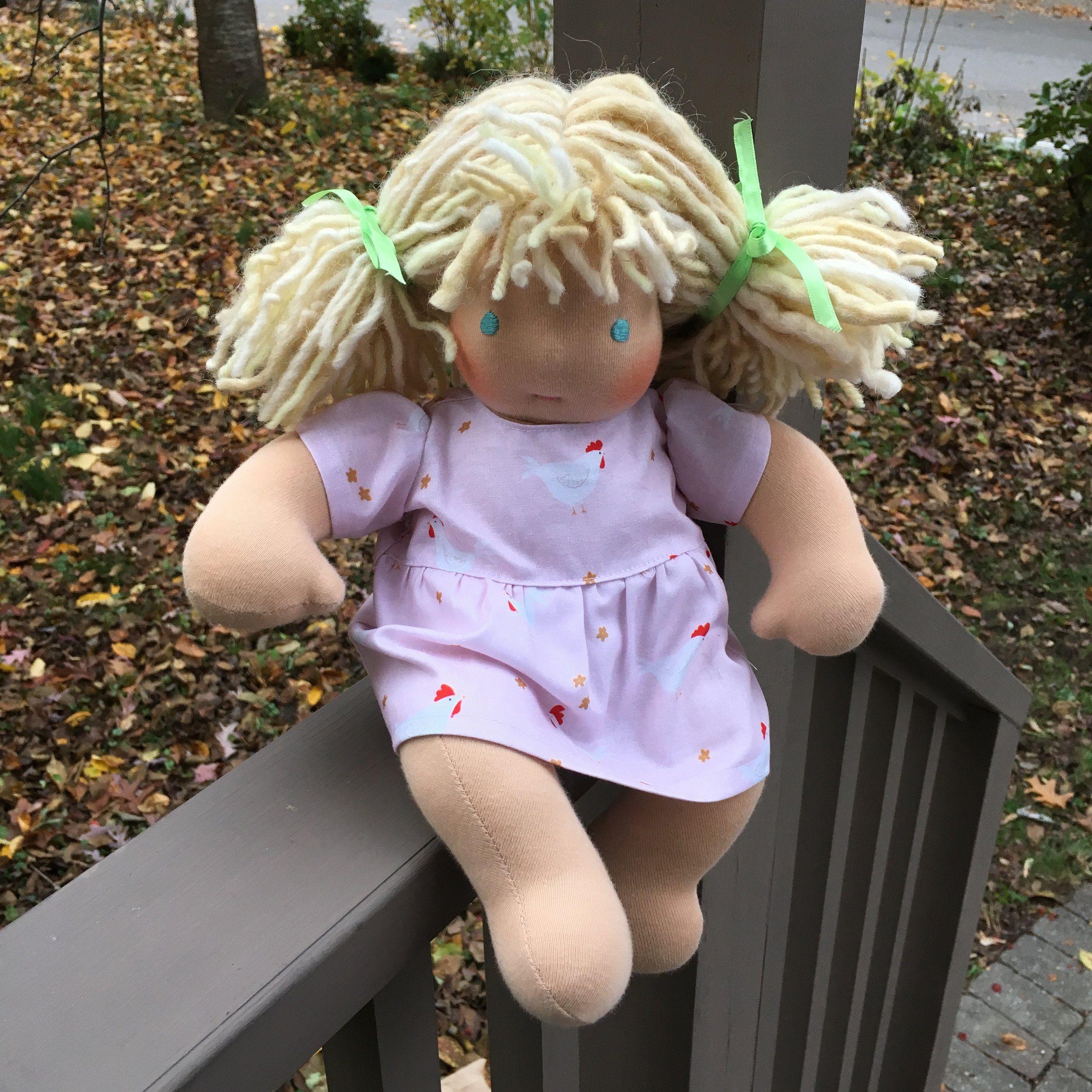 Tutorial:  Bamboletta Baby Doll Dress with FREE pattern — Sleeping Dog Quilts #dolldresspatterns