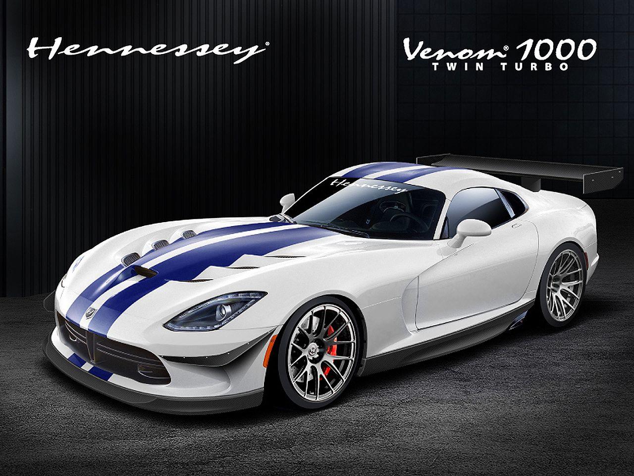 The beastly beast, Hennessey 2013 SRT Viper Venom with 1,120 horsepower
