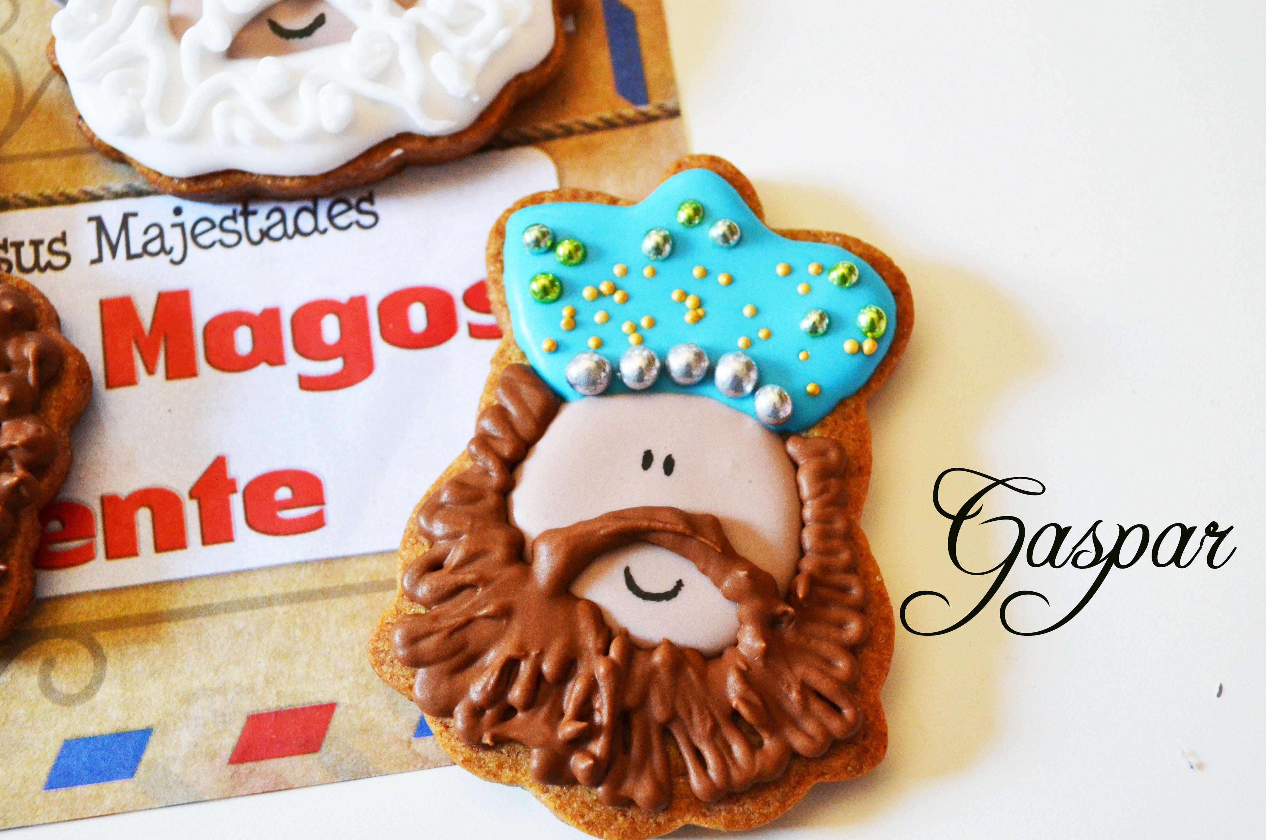 Rey Gaspar, galletas decoradas navideñas