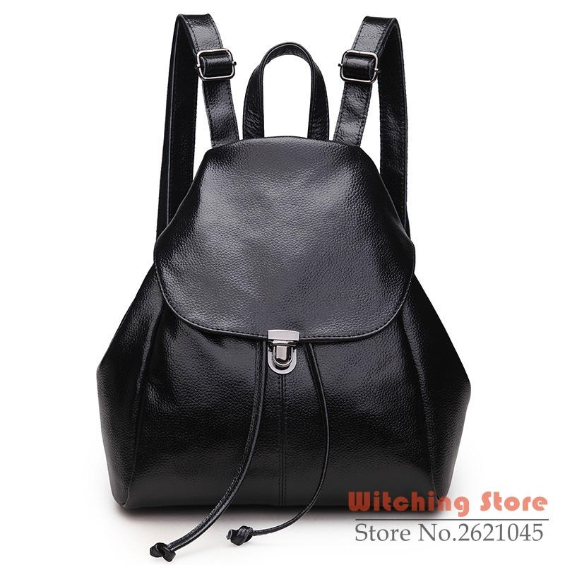 135.00$  Watch here - http://ali9ye.worldwells.pw/go.php?t=32763542972 - P1Perfect# bag Leather fashion leisure backpack Ms. direct sales FREE SHIPPING 135.00$