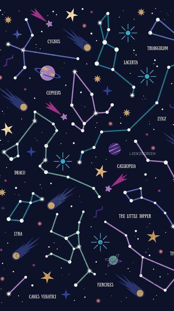 かわいい星座【2019】 | 壁紙、画面の壁紙、壁紙アート