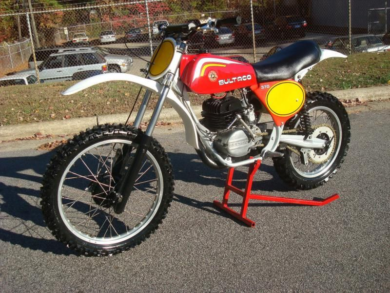 1977 bultaco 370 pursang vintage motocross bikes www. Black Bedroom Furniture Sets. Home Design Ideas