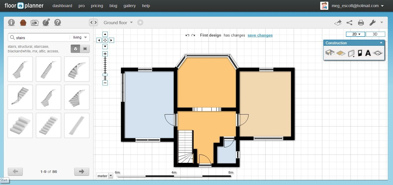 Free Floorplan Software Floorplanner Groundfloor Nofurniture Floor Planner Tutorial Youtube Free Floor Plan Software Floorplanner Review Floor Planner House Plan App Floor Plan Layout