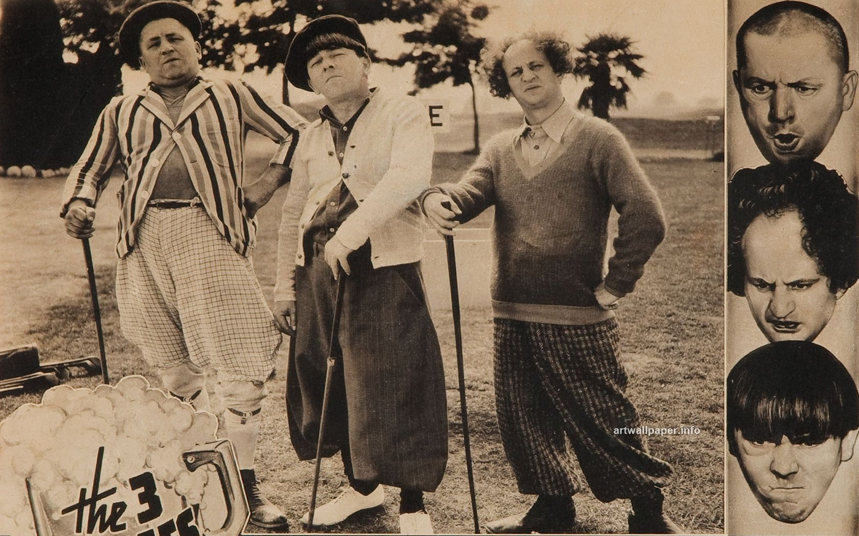 Old Pictures Three Stooges The Three Stooges Wallpaper 02
