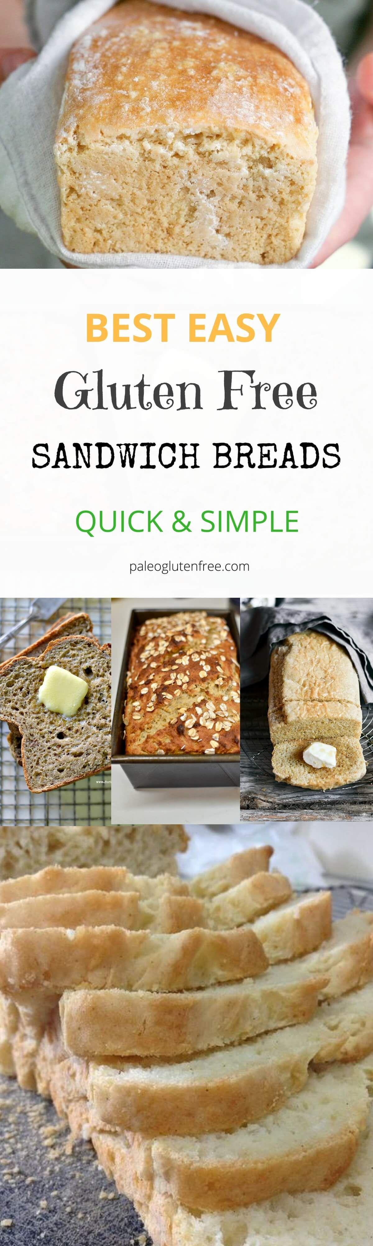 Easy gluten free bread recipes. Gluten free bread