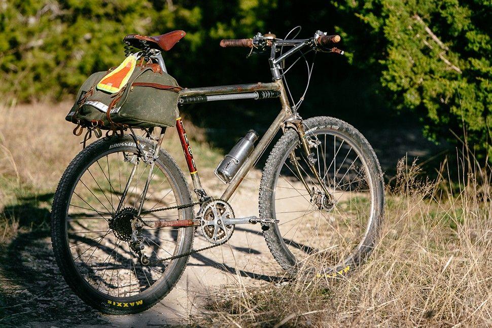Benedict S Trek 970 650b Shred Sled Vintage Mountain Bike Adventure Bike Cycling Trek Bikes