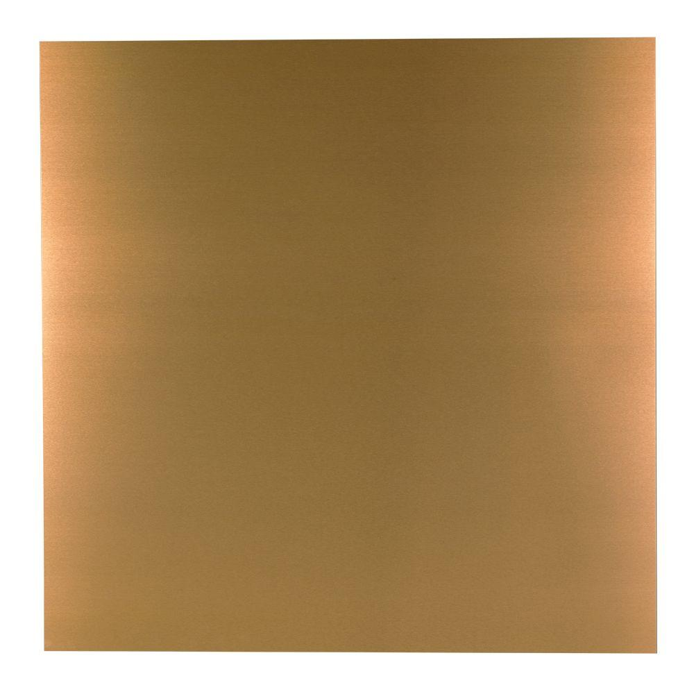 M D Building Products 36 In X 36 In Copper Aluminum Sheet 57526 The Home Depot Aluminum Sheet Metal M D Building Products Aluminium Sheet
