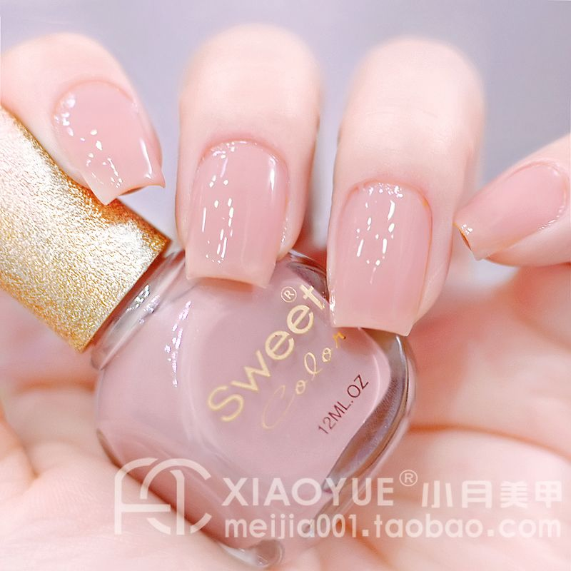 Star sweet color eco-friendly nail polish oil pink goldenbarr ol on ...
