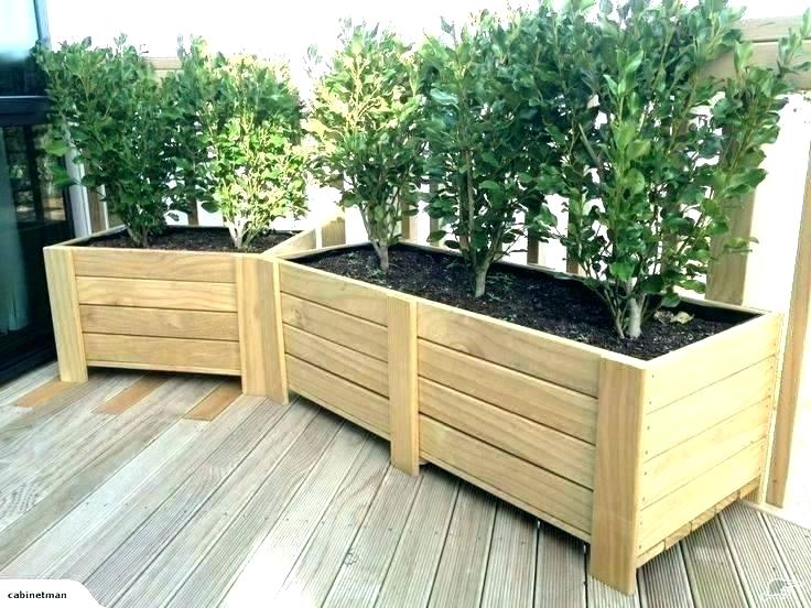 Long Wood Planter Box Boxes Large Wooden With Bench Plans Planters Pertaining To Bench In 2020 Large Planter Boxes Large Wooden Planters Diy Wood Planters