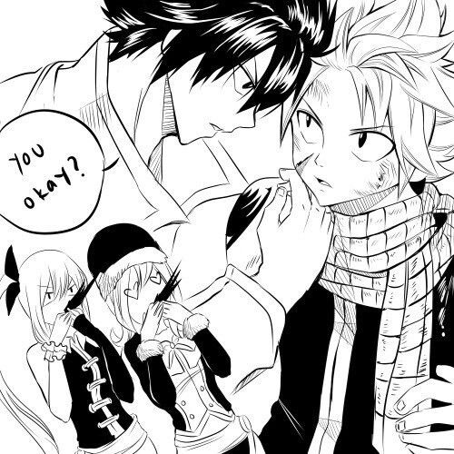 I M A Natsu X Gray Shipper Not A Gray X Natsu Shipper Sorry Find This Cute Though What Oh I Get It You S Natsu Fairy Tail Fairy Tail Anime Anime