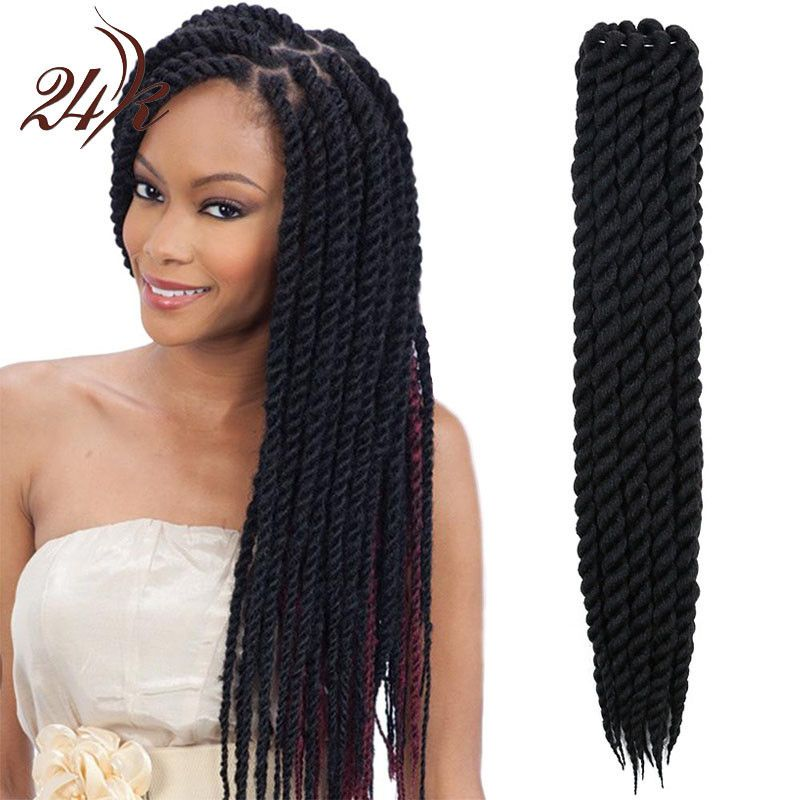 Havana Mambo Twist Crochet Braids Hair 16 Inch Senegalese Synthetic