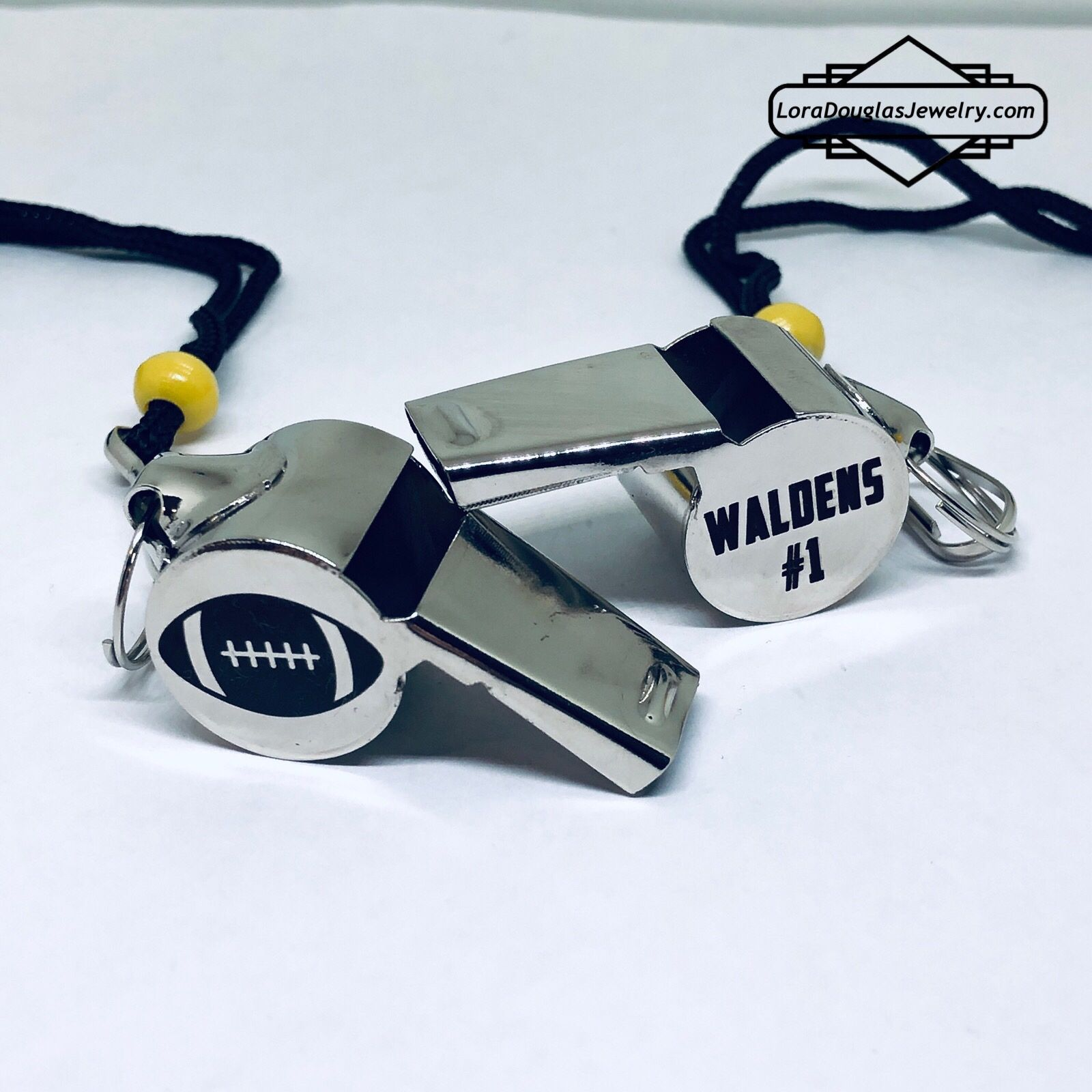 "b648f7e16ce Personalized Coaches Whistles. Say ""thanks for a great season"" with this  personalized gift. #coach #coaching #giftideas #whistle #teacherlife  #soccer ..."