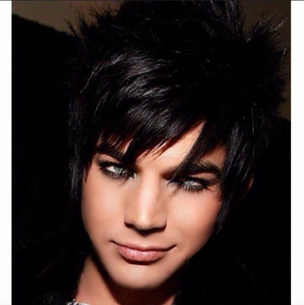 Adam Lambert Black Hair Long Kardashian Fetus Dream Hair Adam