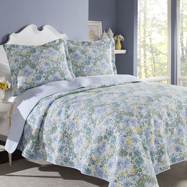 laura ashley home chelsea 2 piece quilt set reviews wayfair