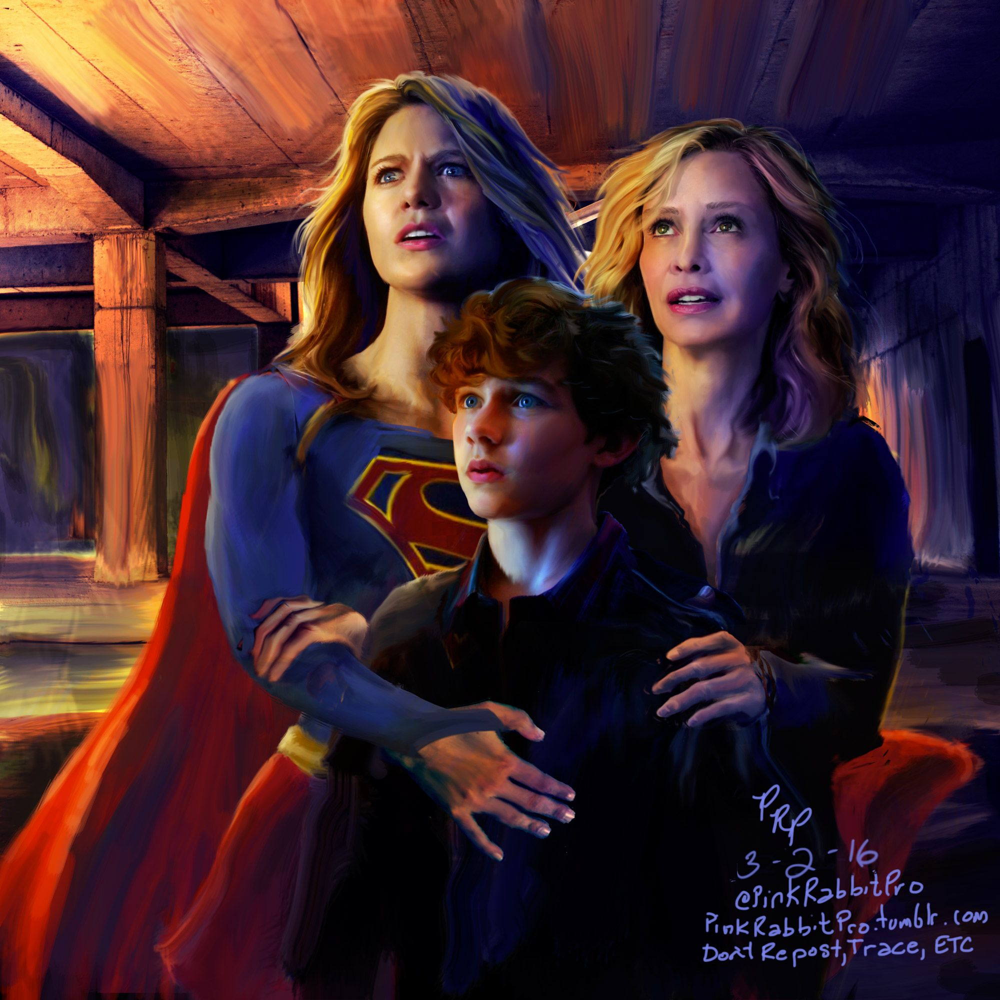 Supergirl erotic fan art
