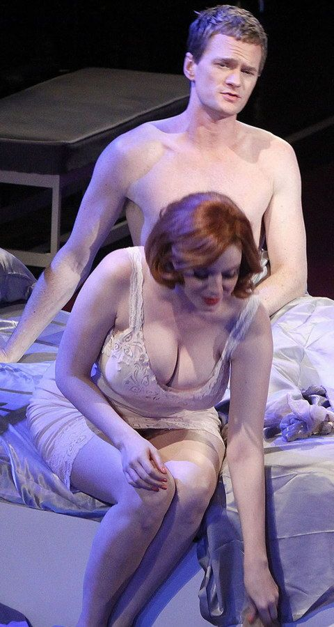 Neil Patrick Harris And Christina Hendricks With Images -3882