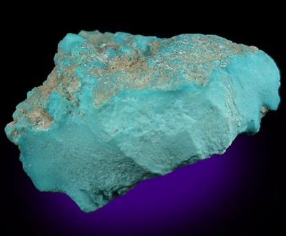 Massive Blue-Green Turquoise - The Mineral and Gemstone Kingdom