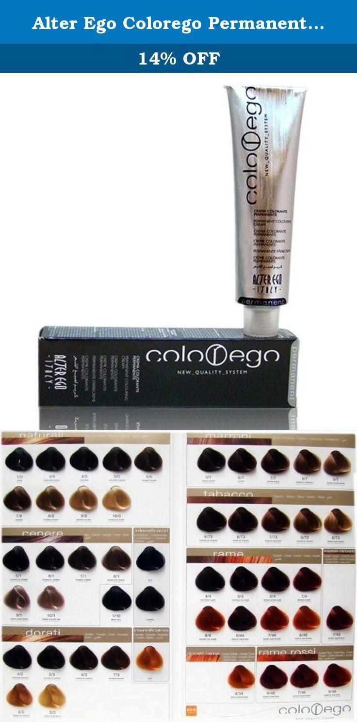 Alter Ego Colorego Permanent Haircolor 10 Black Alter Ego Colorego