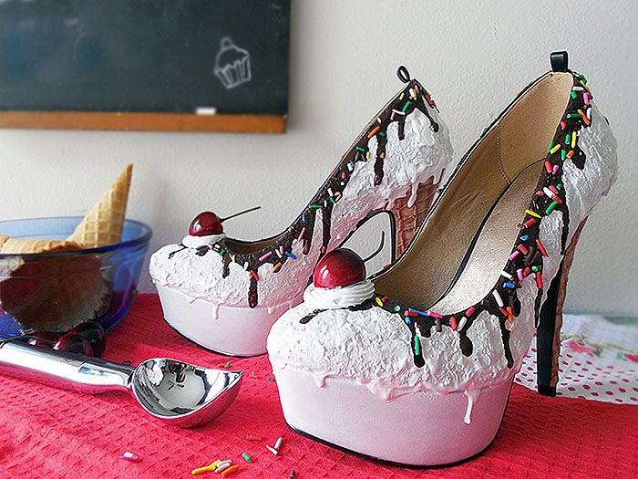 Shoe Bakery Whips Up Shoes That Look Good Enough to Eat. Vanilla Ice  CreamIce ...