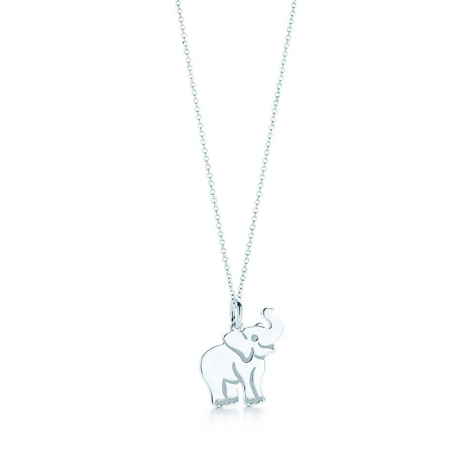 b7d0ae73634c9 Elephant Tag Charm and Chain | My Style - Accessories | Elephant ...