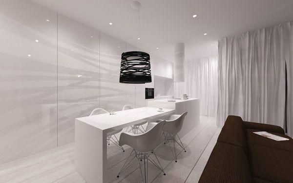 Lovely minimalist apartment poland