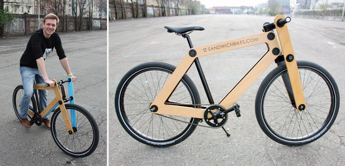 The Sandwichbike Bike Craft Bicycle Wood Bike