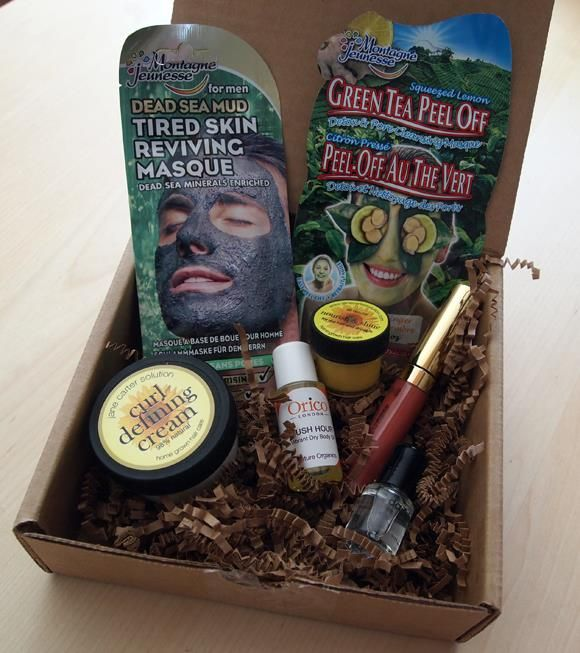 April's Vegan Cuts Beauty Box included samples of Jane Carter ...