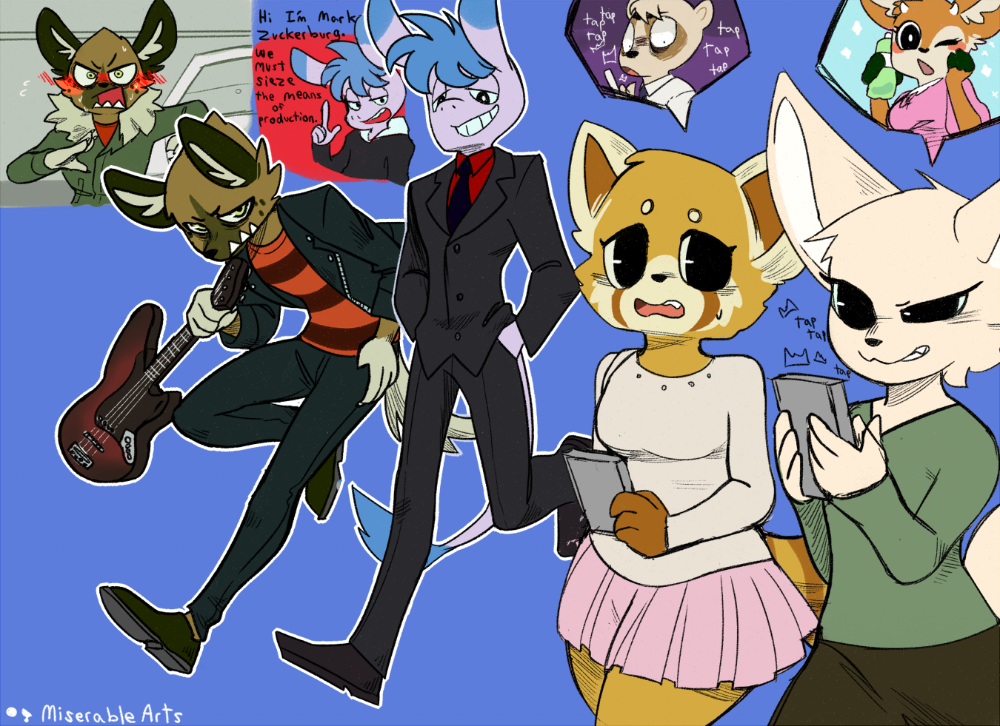 Some doodles from Season Two! aggretsuko in 2020 Anime