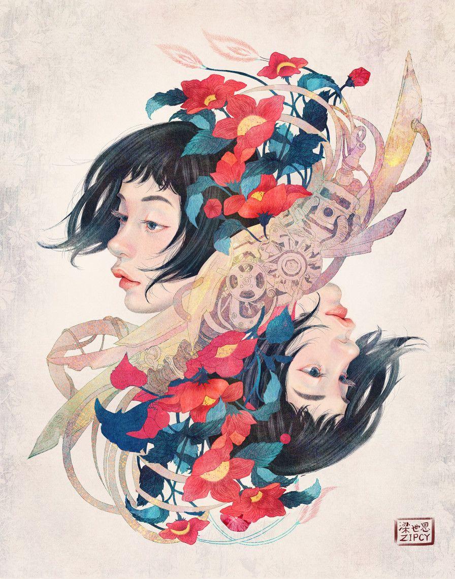 집시 공각기동대 팬아트 By 집시 On Grafolio Artsy Illustration Instagram Art Japanese Art Styles