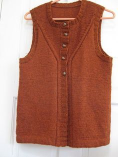 Loretto Vest pattern by Cassie Castillo #womenvest