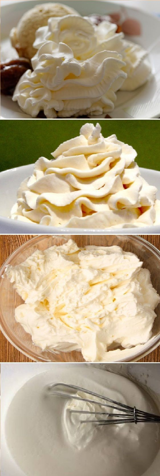 Receta De Crema Chantilly Casera Chantilly Para Decorar Pasteles
