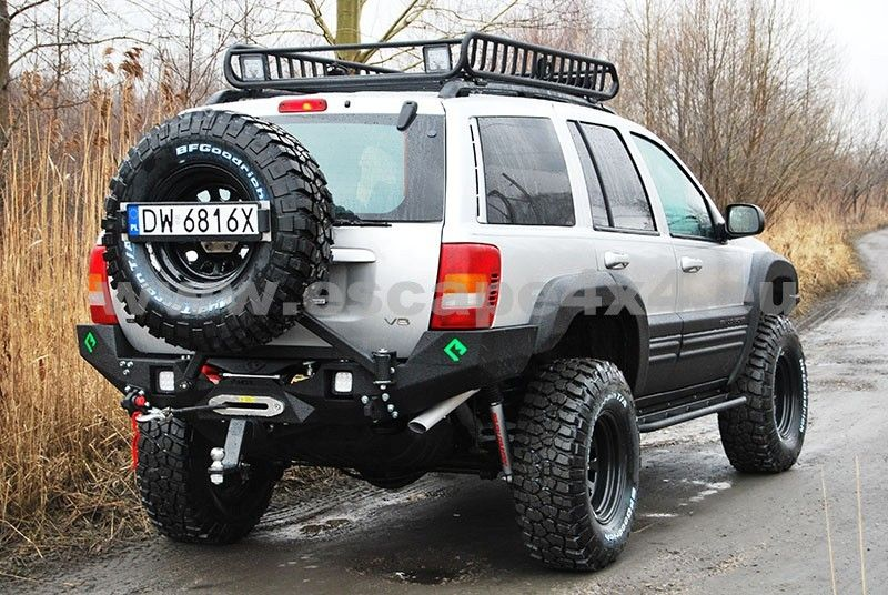 Rear Bumper Jeep Wj Awesome Rear Bumper But The Web Site Says They Deliver Across All Europe I M In U S Jeep Wj Jeep Zj Jeep Grand