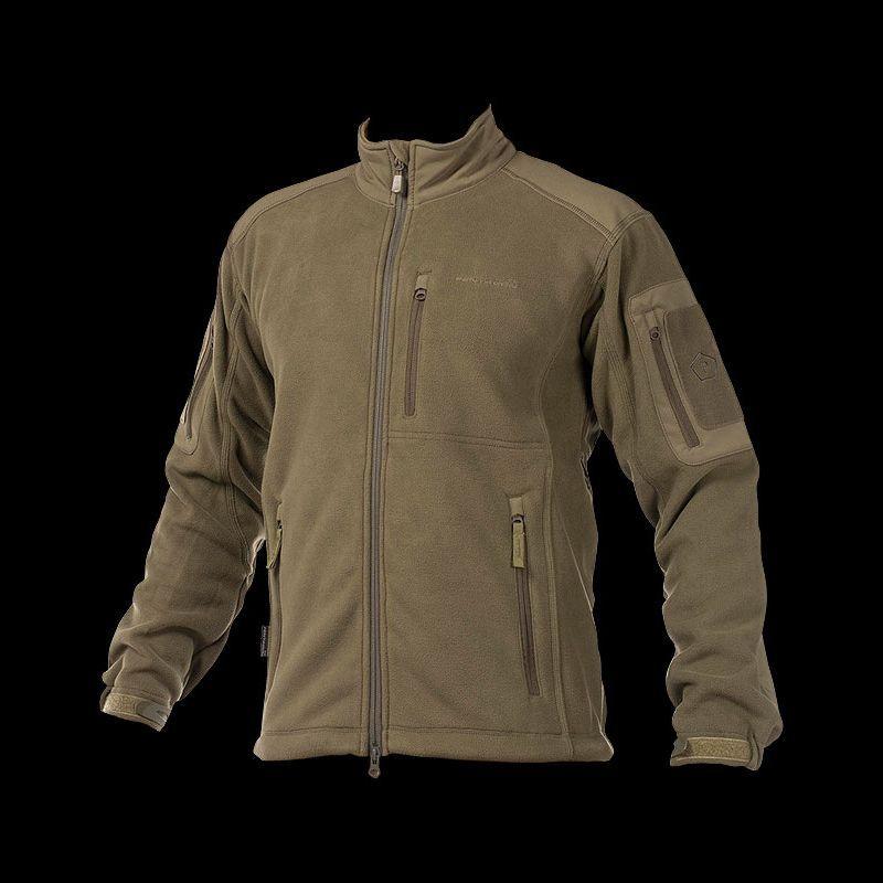 Pentagon Mens Perseus Fleece Jacket 2.0 Olive Green Size XL