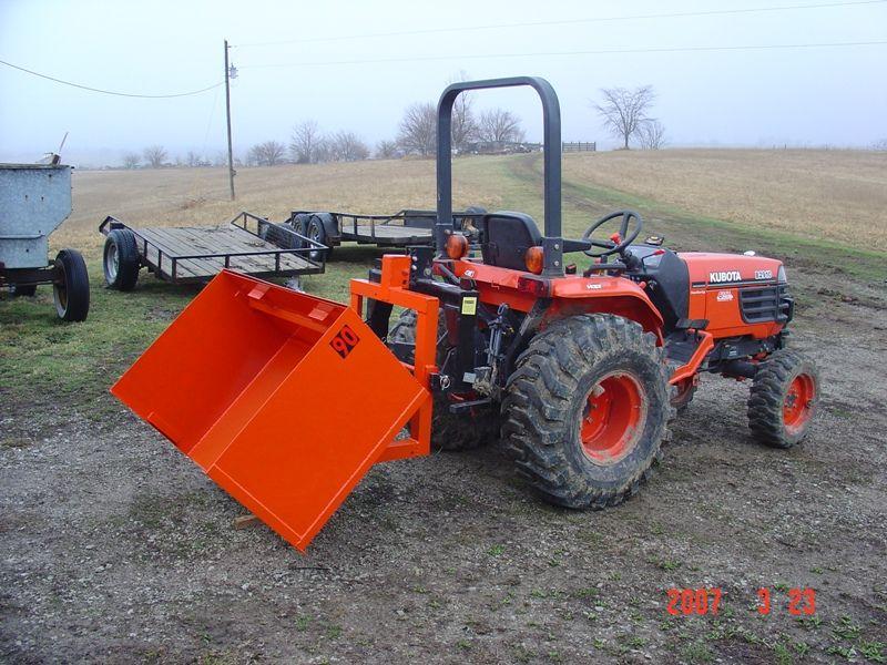 Question about 3pt hitch dump boxes - Page 2 | Tractor attachments