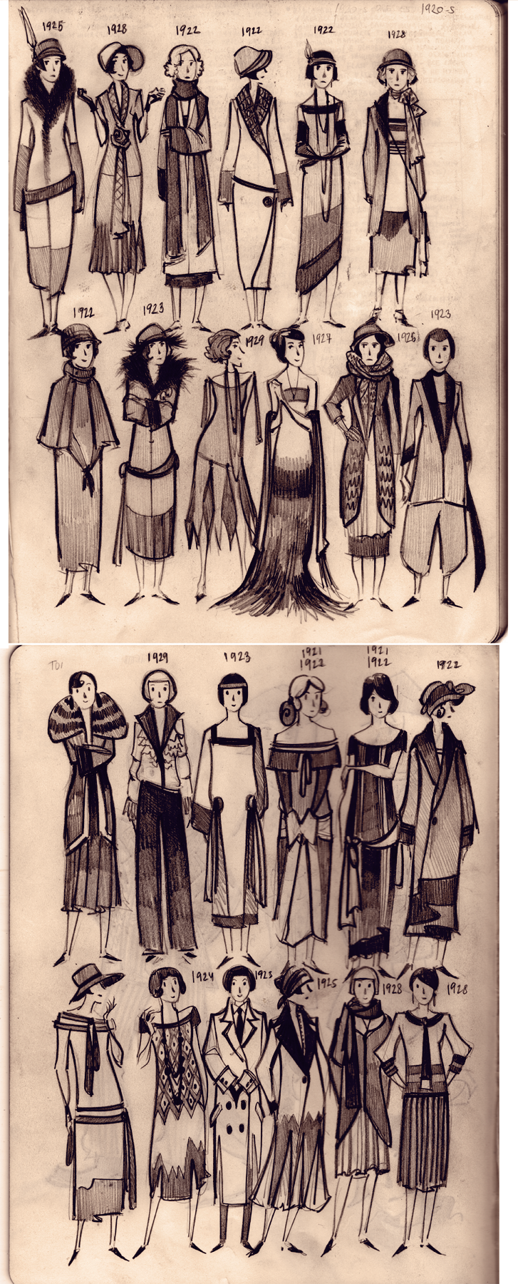 Caravantea S Deviantart Favourites 1920s Fashion Women 1920s Fashion Art Deco Fashion