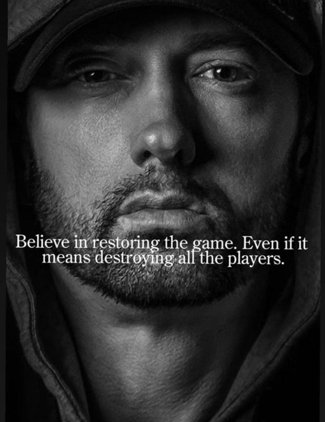 EMINEM!! ️ Eminem quotes, Eminem rap, Eminem slim shady