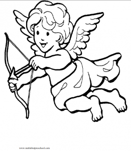 FREE Cupid Coloring Page From Nuttin But Preschool Download And Save The To