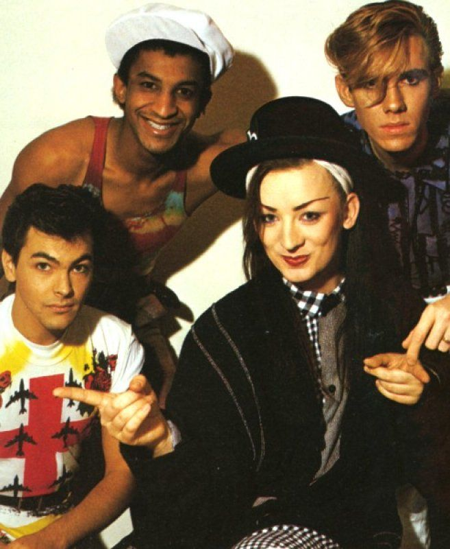 Culture Club...didnt know what half of the songs meant as ...