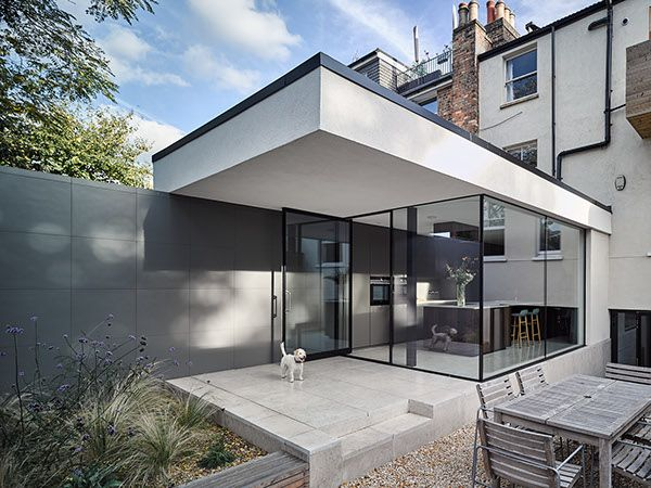 Modern Guest House. | House extensions, Contemporary house ...
