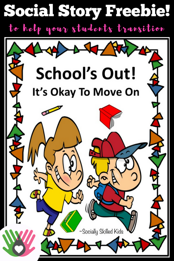 A Teachers Struggle With Student Anxiety >> School S Out Social Story Freebie Autism Ideas And Resources