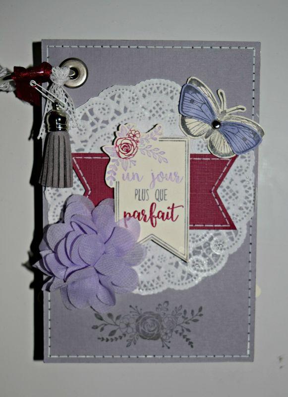 Je Suis Ravi Au Féminin : féminin, Album, Féminin, Florilèges, Design, Albums,, Albums, Scrapbook,, Cartes, Décorées
